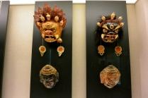 Tibetan masks from the Shanghai Museum